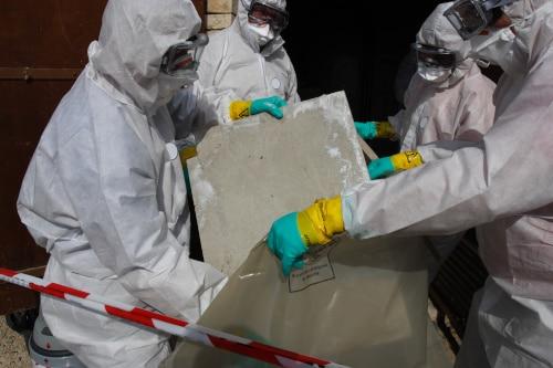 asbestos work, asbestos removal